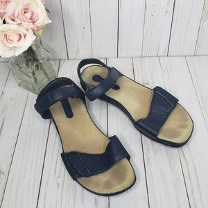 Rockport Navy Blue Velcro Strap Sandals